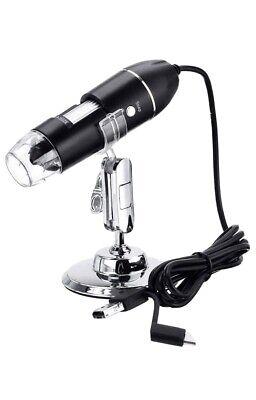 Usb Digital Microscope Jun-l 3 In 1 Handheld 50x-1600x Magnification Endoscope