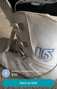 Women snowboard boots size 7