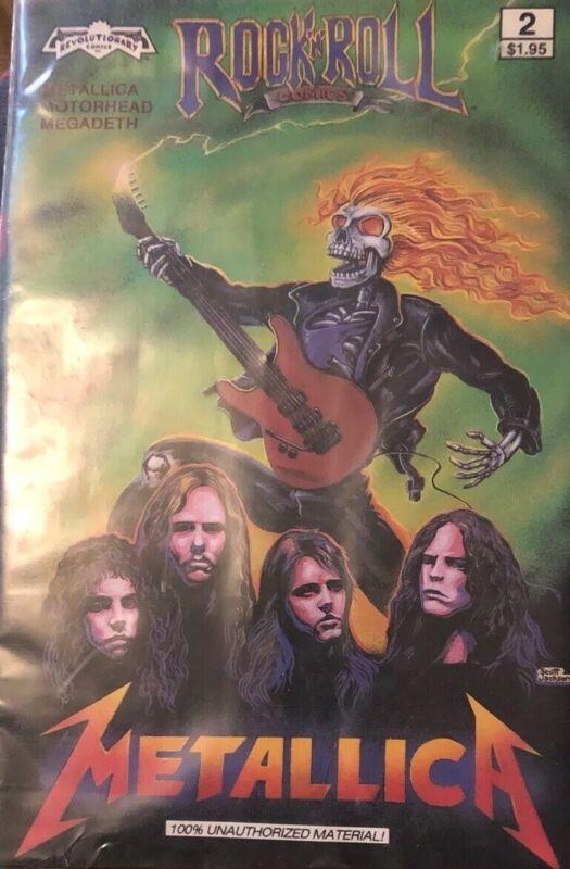 Rock N Roll Comics Metallica