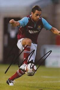 WEST-HAM-SAM-BALDOCK-SIGNED-6x4-ACTION-PHOTO-COA