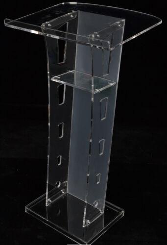Plexiglass Conference Pulpit Acrylic Podium Clear Church Lectern