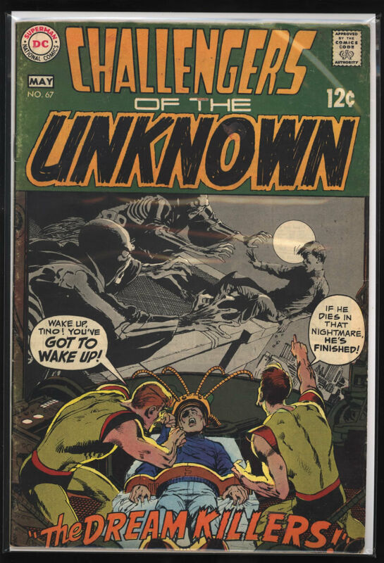 CHALLENGERS OF THE UNKNOWN #67