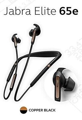 Jabra Elite 65e ANC Bluetooth Neckband Earphones / Alexa Built-In,Copper Black