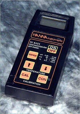 Hanna 8424 Portable Ph Meter