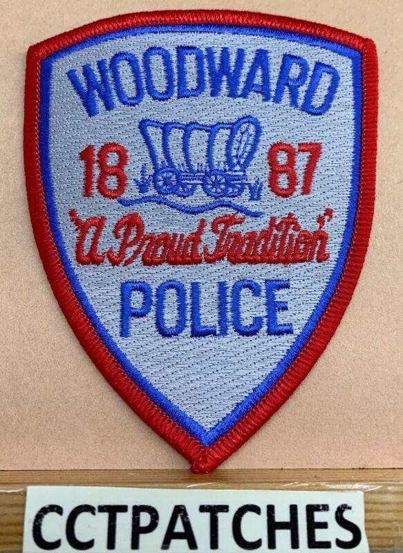 WOODWARD, OKLAHOMA POLICE SHOULDER PATCH OK