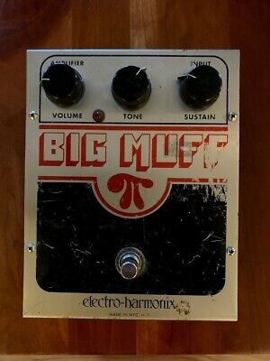 Used Electro-Harmonix EHX Big Muff Pi Distortion Sustainer Effects Pedal