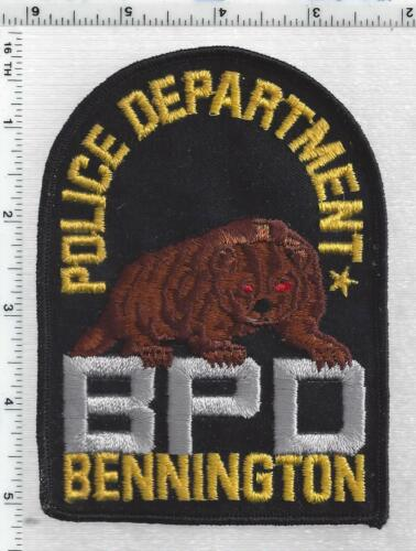 Bennington Police (Nebraska) 1st Issue Shoulder Patch