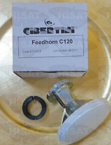 Gibertini C120 Feed Horn for use with C120 LNB's and offset dishes