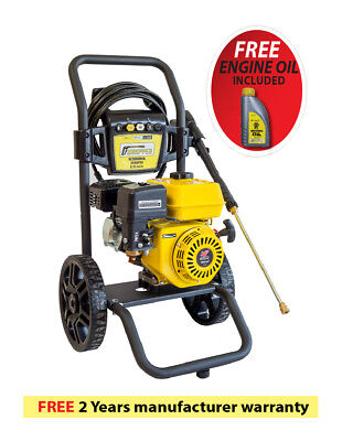 Waspper W3000HA 3000PSI 2.8 GPM Gas Powered Cold Water High Pressure Washer