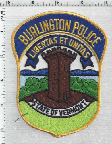 Burlington Police (Vermont) 4th Issue Shoulder Patch
