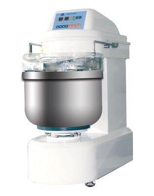 Kingbaker Spiral Dough Mixer Flour Capacity 50kg-110lb Dough Capacity 80kg-176lb