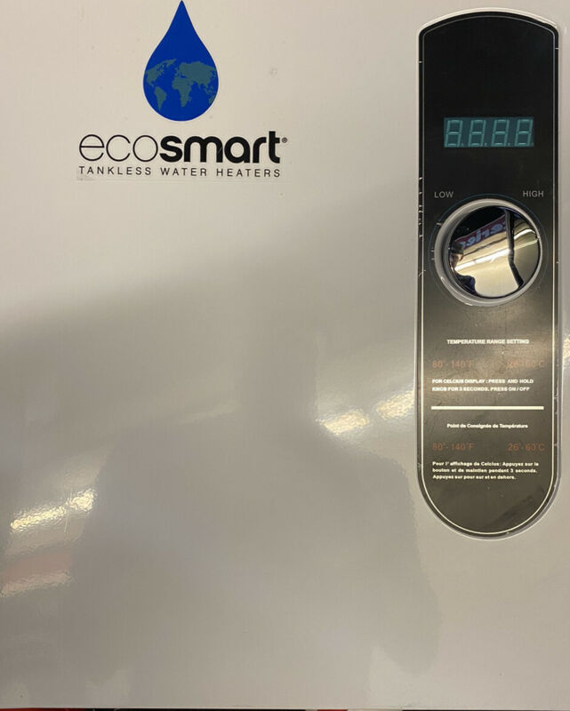 EcoSmart ECO 27 Tankless Electric Water Heater - White