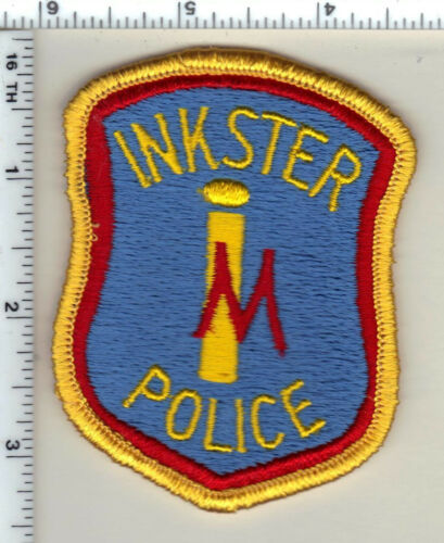 Inkster Police (Michigan)  Shoulder Patch  - new from 1985
