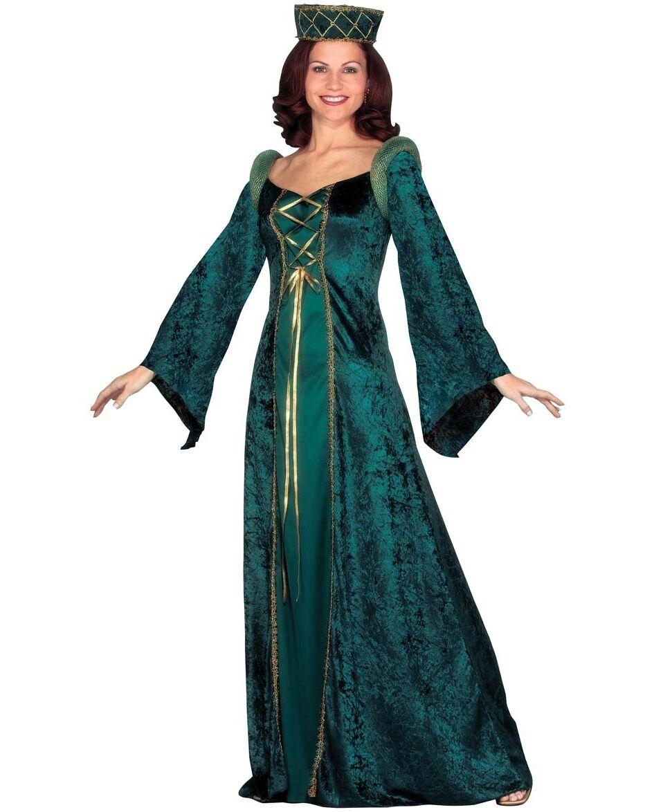 Ladies Renaissance Medieval Banquet Fancy Dress Costume Outfit 8 26
