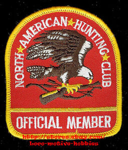PATCH  Official Member NORTH AMERICAN HUNTING CLUB  NAHC Gun  Club Organization