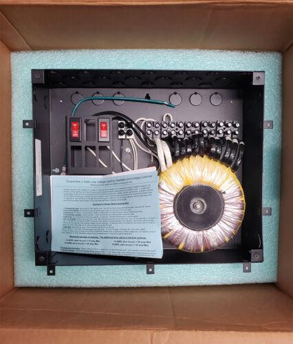 SEMPER-FI R600 TORODIAL LOW-VOLTAGE LIGHTING TRANSFORMER, 600W, 12 or 24VAC