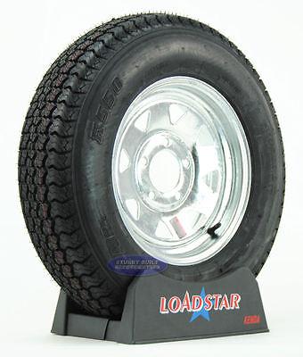 Kenda Loadstar Trailer Tire ST 175/80D13 on Galvanized 5 Lug Wheel B78-13 - Loadstar Trailer Tire