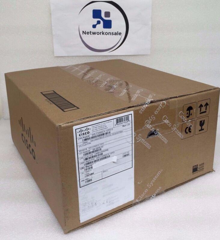 Ws-c3560cx-12pd-s 3560-cx Switch 12 Ge Poe+, 2 X 10g Sfp+ Switch *new Cisco*