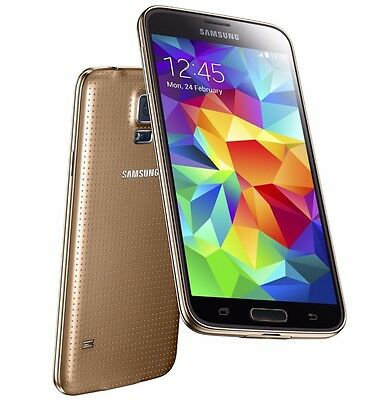 Samsung Galaxy S5 SM-G900S 32GB UNLOCKED Gold