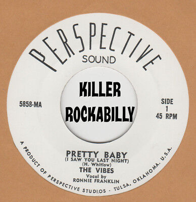 ROCKABILLY REPRO: THE VIBES (DAVID GATES)-Pretty Baby/Crying For You PERSPECTIVE for sale  Shipping to India