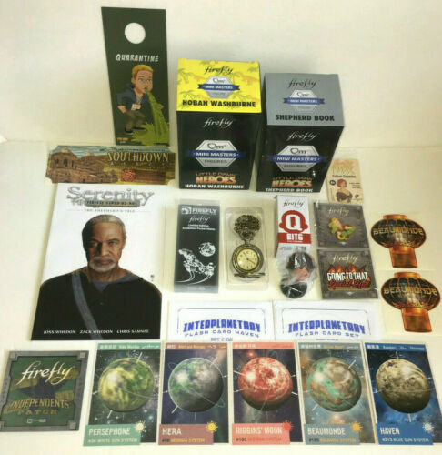 Loot Crate Exclusive - Firefly - Lot of Different Items from Firefly Crates NEW