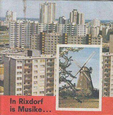 Wahlpropaganda der SPD 1970 - Bau der Gropiusstadt Berlin / Bau U 7