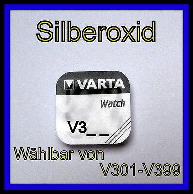 VARTA Silberoxid Knopfzellen V321 - V371 - V377 - V379 Uhrenbatterie *wählbar* ()