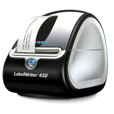 Dymo Labelwriter 450 Desktop Thermal Label Printer  4 Rolls Labels