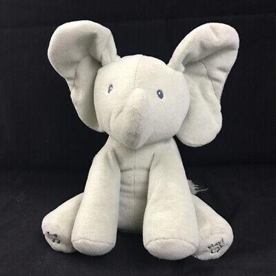 Gund Baby Animated Flappy The Elephant Plush Toy Peek A Boo Elephant 4053934