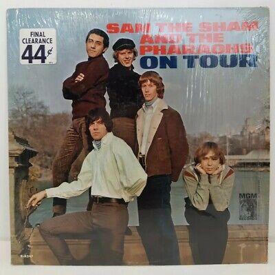 Sam the Sham and the Pharaohs Tour E-4347 Vintage 60s Record Album 1965 Red