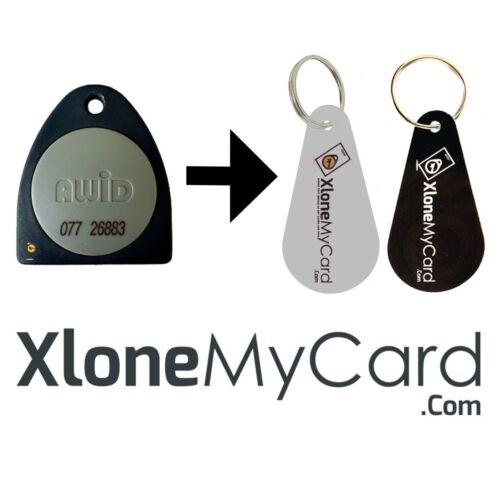 Copy / Clone Awid Fob or Key Card 26 bit Format Only