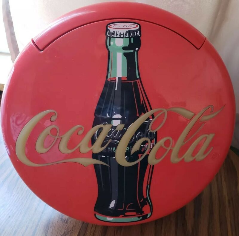 """Coca-Cola 12"""" Button Phone Lighted-Works"""