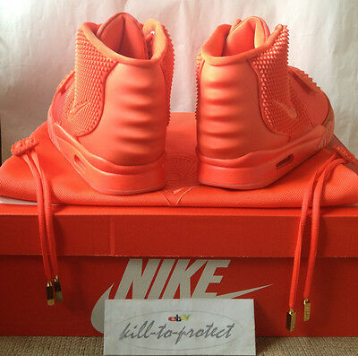 ... NIKE AIR YEEZY 2 RED OCTOBER Sz US7 UK6 KANYE WEST 508214-660 LEGIT+ ... 950880eaa
