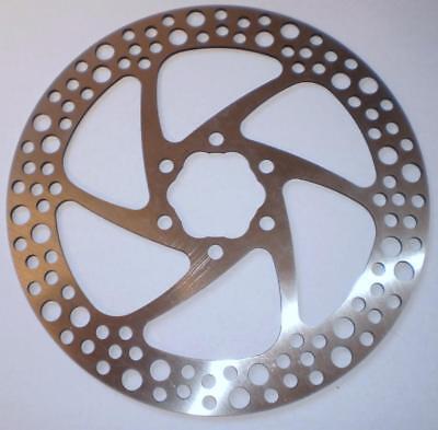 Bike disc brake rotor spacer 2mm 6-Bolt shim ABS plastic 1 PCS