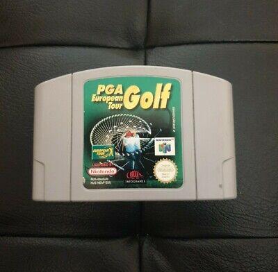 PGA Tour European N64 Cart Only Tested