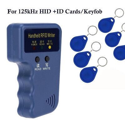 Portable Handheld Card Writercopier Duplicator For All 125khz Rfid Cards