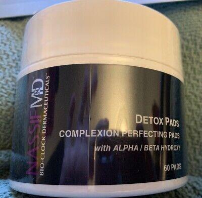 Alpha-beta-hydroxy - (Nassif MD™ Detox Pads Alpha Beta Hydroxy Complexion 60 Pads New SEALED Fresh )