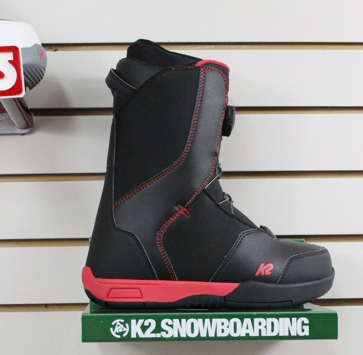 New 2019 K2 Vandal Snowboard Boots Mens Size 5 Black Youth B