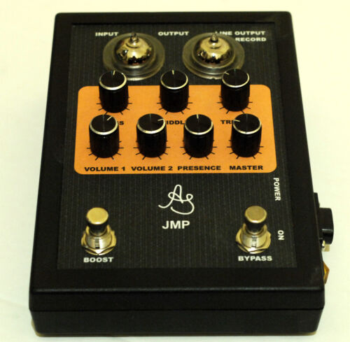 Tube guitar preamp based on JMP