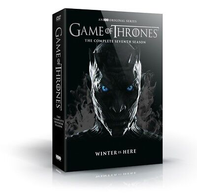 Game Of Thrones Complete Season 7 Dvd   Free Shipping Pre Order Release 12 12 17