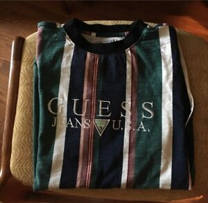 Guess 1981 Capsule Collection Sayer Tee Shirt Size XS Fits Small