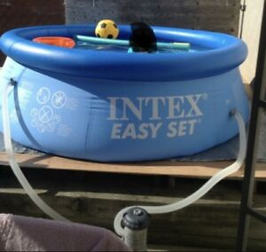 8x30 pool with pump and cover