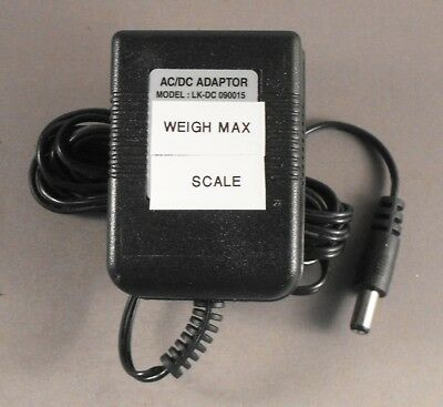 Weigh Max W-2822-75l Digital Scale Ac Adapter