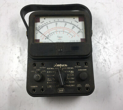 Simpson 260 Series 3 Voltmeter