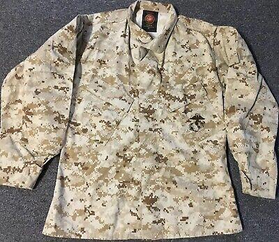 USMC Small X-Short Digi Desert Camo Jacket Army Marines Polo Sport Navy Military for sale  Phoenix
