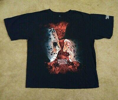 Freddy vs Jason Friday the 13th Shirt Halloween Horror Nights Orlando Florida ](Halloween Horror Nights Freddy Jason)