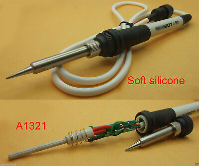 5pcs Silicone Cable A1321 907 Handle Iron For Hakko936 928 936 Soldering Station