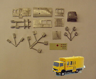 P&D Marsh N Gauge N Scale E102 BR Permanent way lorry kit requires painting, used for sale  Shipping to Ireland
