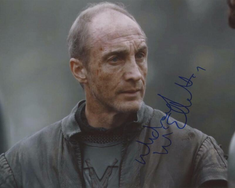 "Michael McElhatton ""Game of Thrones"" AUTOGRAPH Signed 8x10 Photo ACOA"