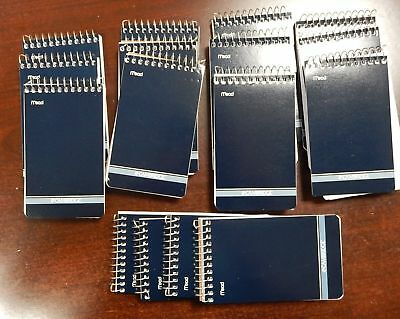 16 Mead Cambridge Writing Pad 3 X 5 Small Memo Book Wirebound Notebook 70sheet